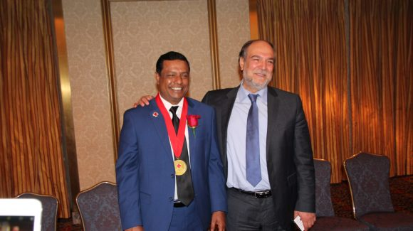 Mr. Nasir Bin Zakaria Honored as American Red Cross 2018 Global Citizenship Hero