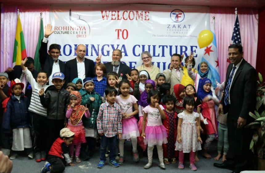 الصليب الأحمر يكرم مدير مركز الروهينجا الثقافي الذي ترعاه الزكاة