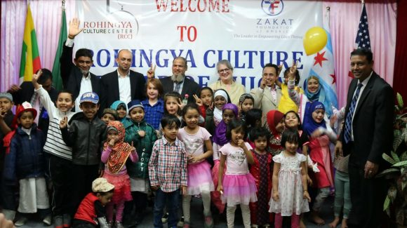 Red Cross Honors Zakat Foundation Rohingya Culture Center Director