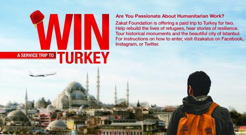 الزكاة تقدم رحلة مجانية إلى تركيا