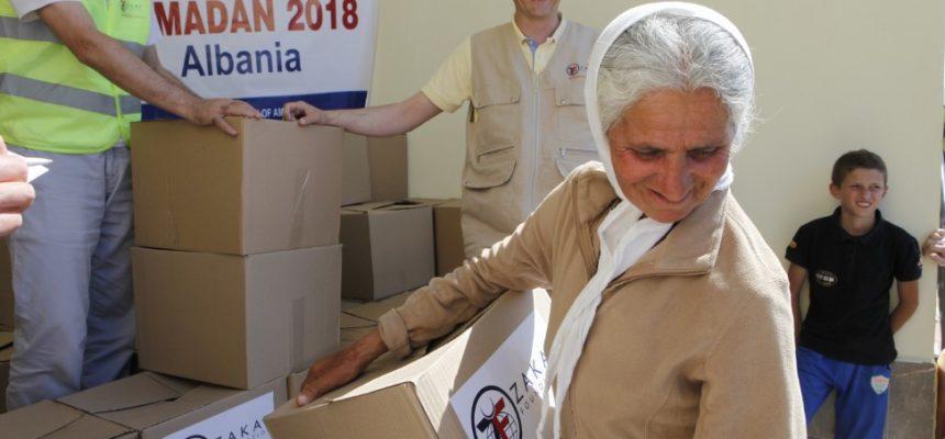 ألبانيا: توزيعات رمضان 2018