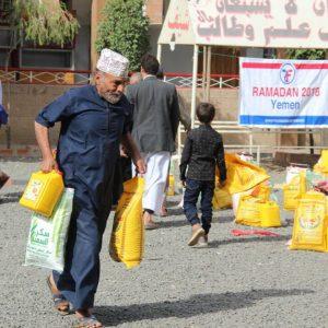 Zakat Foundation Delivers Ramadan Food Baskets in Yemen