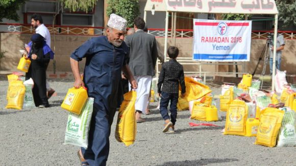 Zakat Foundation Delivers Ramadan Food Baskets in Yemen