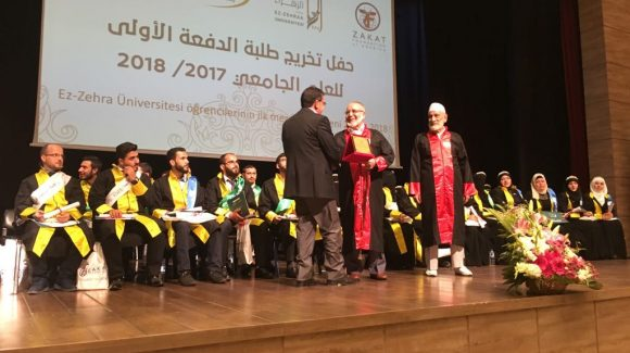 ZF-Sponsored University Graduates First Syrian Refugees