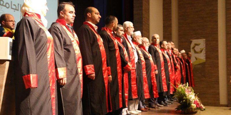جامعة الزهراء تخرج أول فوج بكالوريوس من اللاجئين السوريين