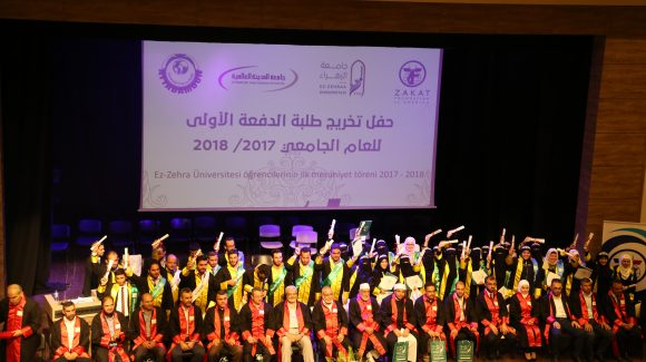 ZF's Zahraa University Graduates First Syrian Refugee Class