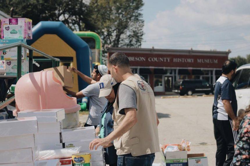 إغاثة كارولينا الشمالية من إعصار فلورنس