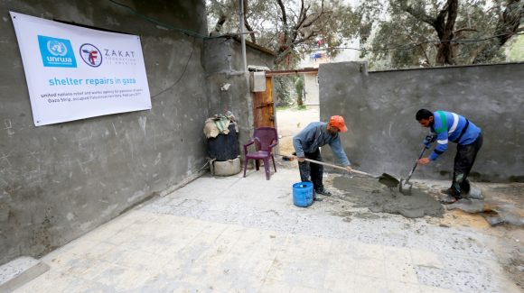 Zakat Foundation & UNRWA USA to Rebuild Houses in Gaza