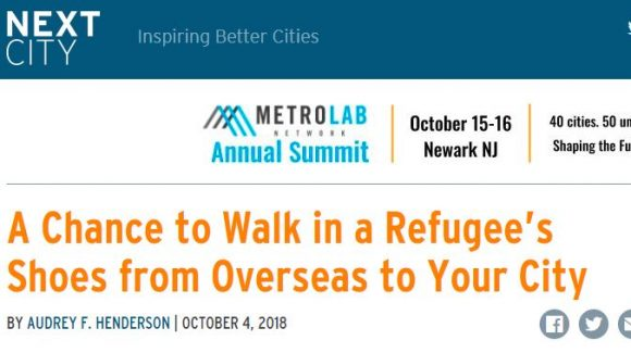 A Chance to Walk in a Refugee's Shoes from Overseas to Your City