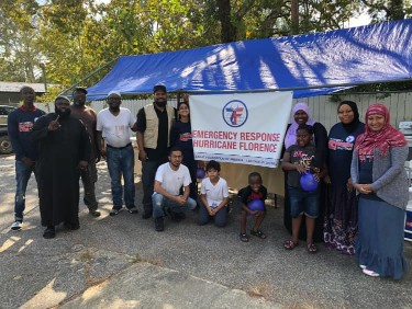 Zakat Foundation Begins Partnership with IMANA for Hurricane Relief