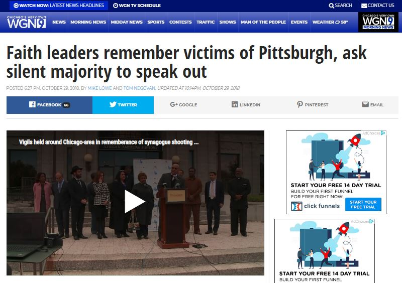 CEO Halil Demir Remembers Pittsburgh Victims - Zakat