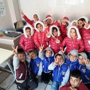 Help ZF, Basmat Amal Provide Winter Kits for Syrian Kids