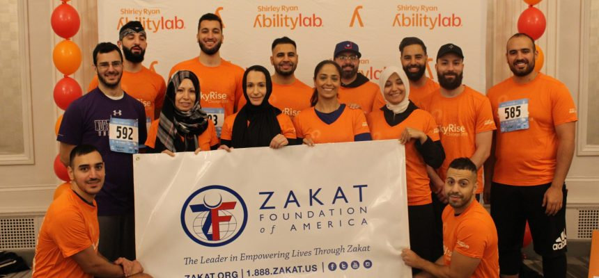 ZF Employees, Volunteers Climb Willis Tower