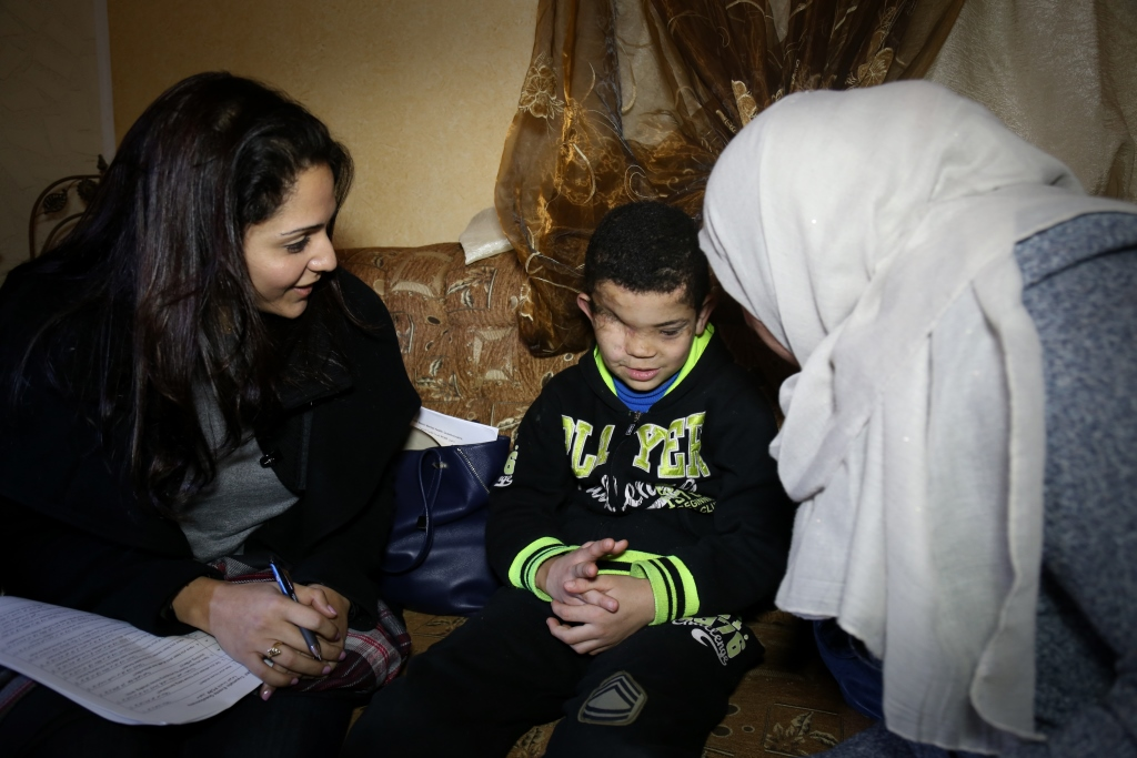 Comprehensive mental health care is provided to children in Palestine