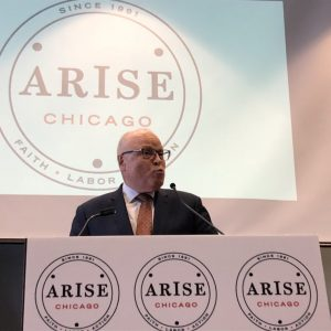 ZF Honors Rev. Dowling at ARISE Breakfast