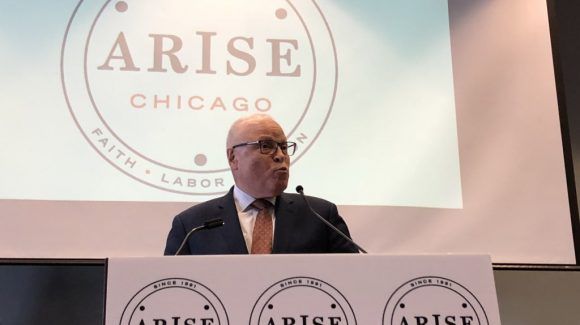 ARISE Chicago Honors Rev. Dowling at ARISE Breakfast