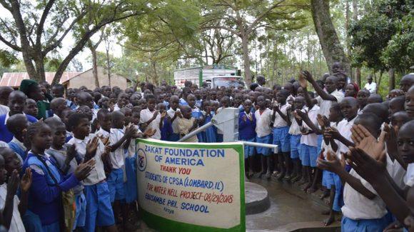 تركيب مضخات مياه في كينيا