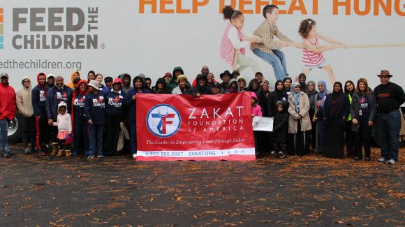 Zakat Foundation, Feed the Children Unite to Feed Durham, NC
