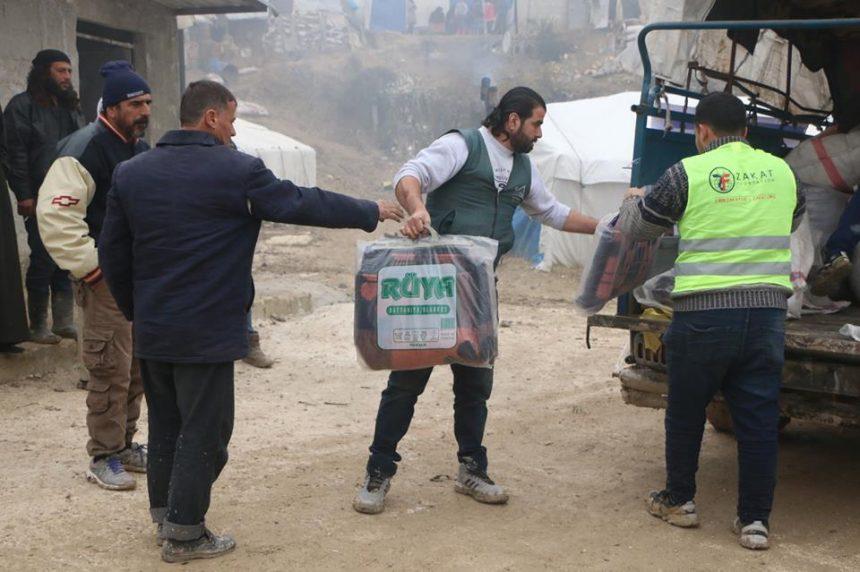 الإغاثة الشتوية في سوريا عام 2018/19