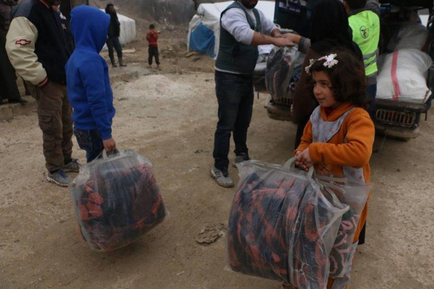 كسوة الشتاء: سوريا 2018/19