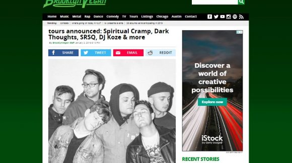 "Band ""Spiritual Cramp"" Plays Benefit Show for ZF"