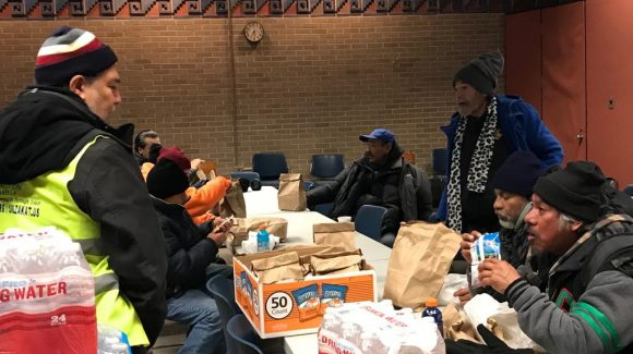 Chicago bands together to help the homeless during deep freeze