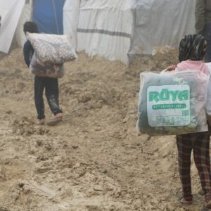 Help Arrives for Refugees in Northern Syria Camps