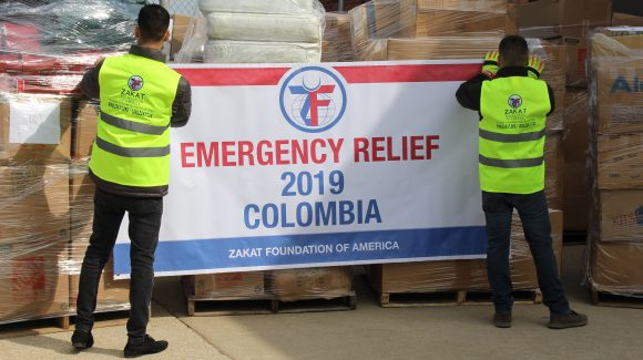 Humanitarian Aid En Route to Latin America