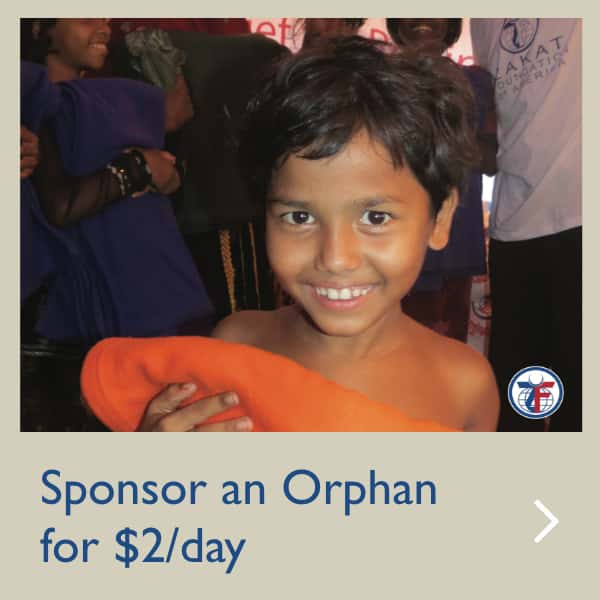 Sponsor an Orphan for $2 per day