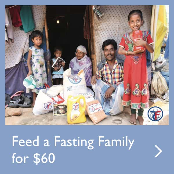 Feed a Fasting Family for $60