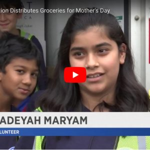 Watch: Zakat Foundation Recognized for their Ramadan Mother's Day Food Distribution