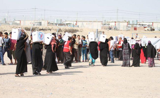 مساعدات الزكاة للاجئين في صور