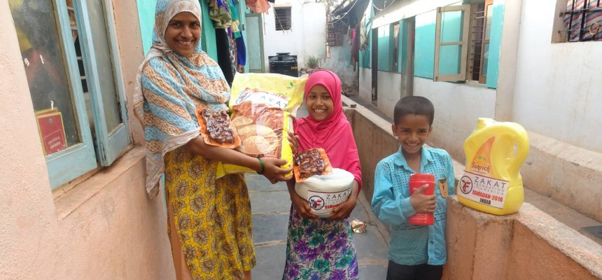 Can Zakat be given to family?