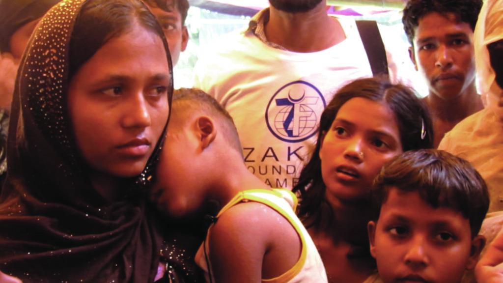 Yasmin Ara, Balukhali Camp, Bangladesh