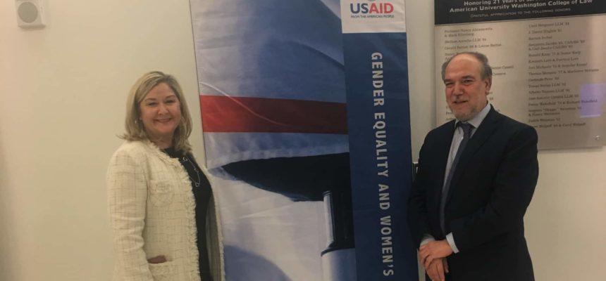 خليل دمير يشارك في مؤتمر الوكالة الأمريكية للتنمية الدولية حول استخدام الزكاة لتمكين المرأة