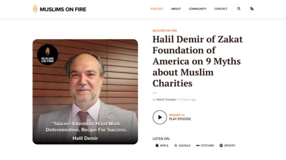 Halil Demir of Zakat Foundation of America on 9 Myths about Muslim Charities