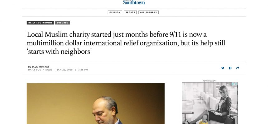 Local Muslim charity started just months before 9/11 is now a multimillion dollar international relief organization, but its help still 'starts with neighbors'