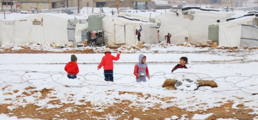 How Does a Syrian Refugee Survive A Harsh Winter?