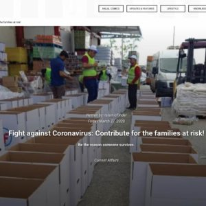 Fight against Coronavirus: Contribute for the families at risk!