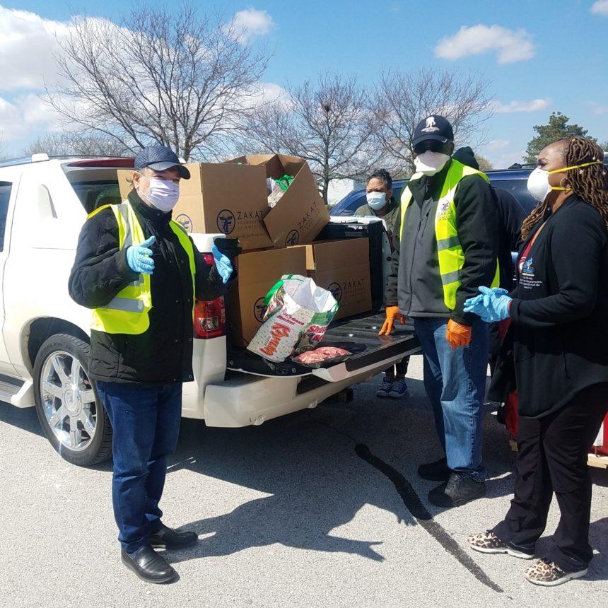 السيد دمير  يقود حملة توزيع المساعدات الطارئة لمواجهة فيروس كورونا