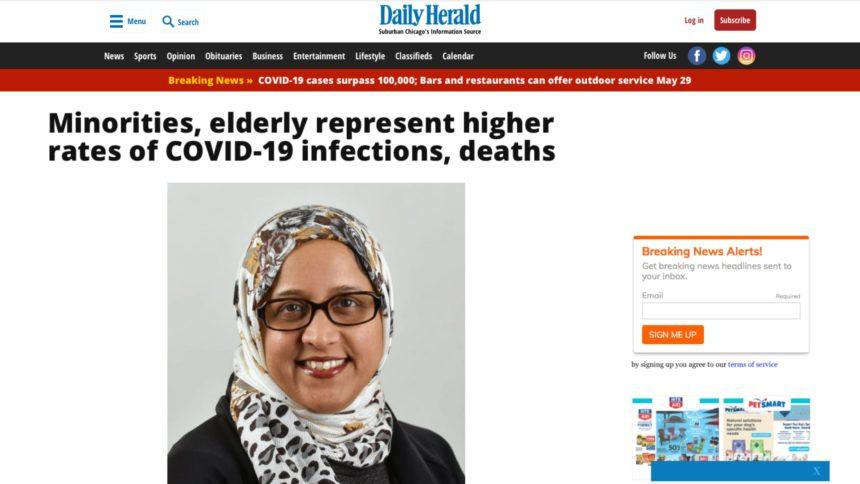 الأقليات وكبار السن الأكثر عرضة للوفاة بسبب فيروس كورونا