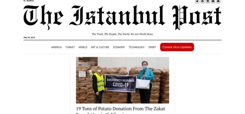 19 Tons of Potato Donation From The Zakat Foundation in California