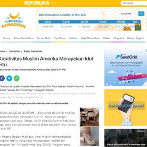 Kreativitas Muslim Amerika Merayakan Idul Fitri