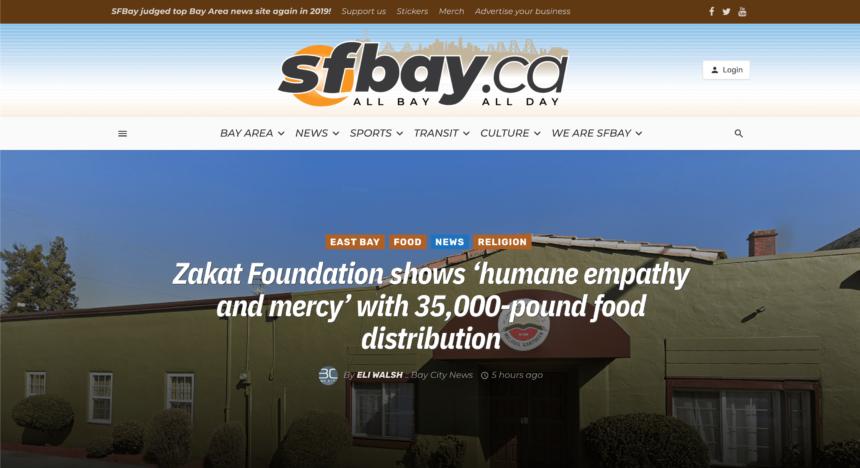 """مؤسسة الزكاة تظهر """"التعاطف والرحمة الإنسانية"""" بتوزيع 35 ألف باوند من المواد الغذائية"""