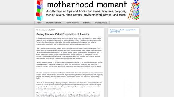 Caring Causes: Zakat Foundation of America
