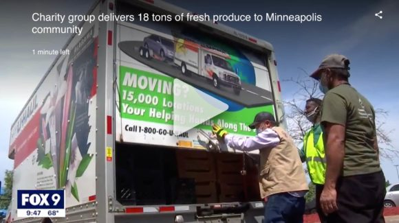 Charity group delivers 18 tons of fresh produce to Minneapolis community