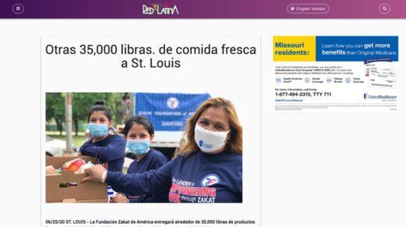 Otras 35,000 libras. de comida fresca a St. Louis