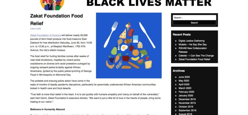 Zakat Foundation Food Relief
