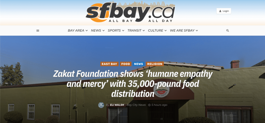 Zakat Foundation shows 'humane empathy and mercy' with 35,000-pound food distribution