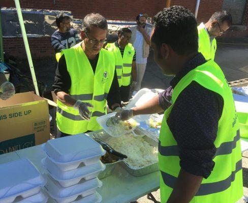 مساعدة ضحايا إعصار ماثيو في كارولينا الشمالية
